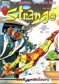 Cover Thumbnail for Strange (Editions Lug, 1970 series) #108