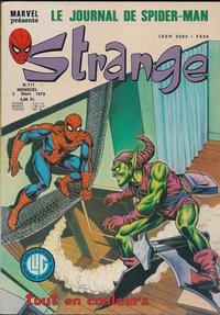 Cover Thumbnail for Strange (Editions Lug, 1970 series) #111