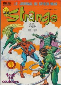 Cover Thumbnail for Strange (Editions Lug, 1970 series) #113