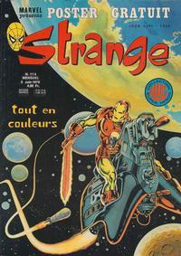 Cover Thumbnail for Strange (Editions Lug, 1970 series) #114