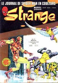 Cover Thumbnail for Strange (Editions Lug, 1970 series) #117