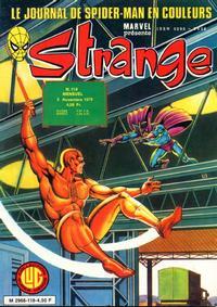 Cover Thumbnail for Strange (Editions Lug, 1970 series) #119