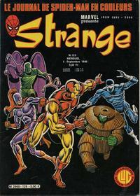 Cover Thumbnail for Strange (Editions Lug, 1970 series) #129