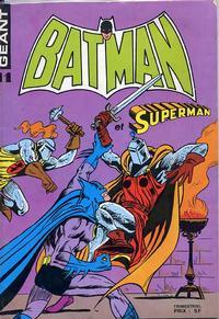 Cover Thumbnail for Batman et Superman Géant (Sage - Sagédition, 1976 series) #11