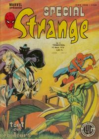 Cover Thumbnail for Spécial Strange (Editions Lug, 1975 series) #11