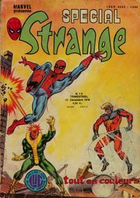 Cover Thumbnail for Spécial Strange (Editions Lug, 1975 series) #14