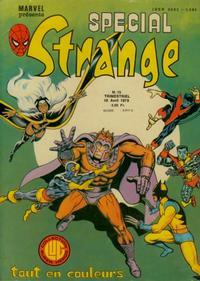 Cover Thumbnail for Spécial Strange (Editions Lug, 1974 series) #15