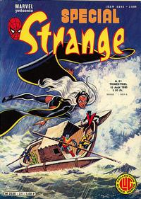 Cover Thumbnail for Spécial Strange (Editions Lug, 1974 series) #21