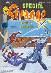 Cover Thumbnail for Spécial Strange (Editions Lug, 1975 series) #22