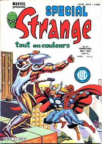 Cover Thumbnail for Spécial Strange (Editions Lug, 1975 series) #27