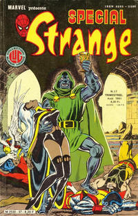 Cover Thumbnail for Spécial Strange (Editions Lug, 1975 series) #37
