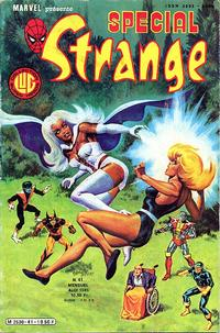 Cover Thumbnail for Spécial Strange (Editions Lug, 1975 series) #41