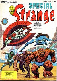 Cover Thumbnail for Spécial Strange (Editions Lug, 1975 series) #48