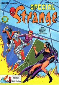 Cover Thumbnail for Spécial Strange (Editions Lug, 1975 series) #49