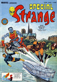 Cover Thumbnail for Spécial Strange (Editions Lug, 1975 series) #53