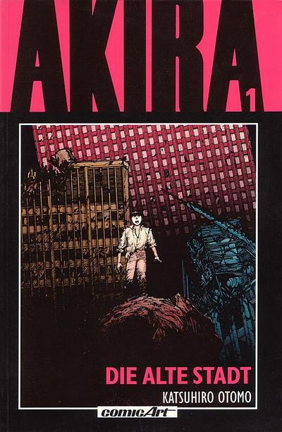 Cover for Akira (Carlsen Comics [DE], 1991 series) #1