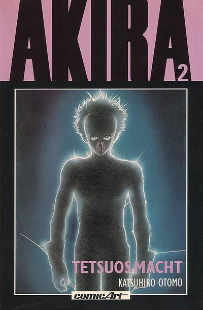 Cover for Akira (Carlsen Comics [DE], 1991 series) #2