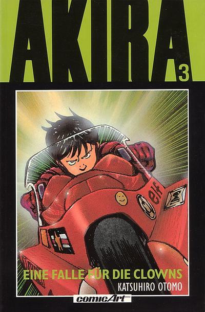 Cover for Akira (Carlsen Comics [DE], 1991 series) #3 - Eine Falle für die Clowns