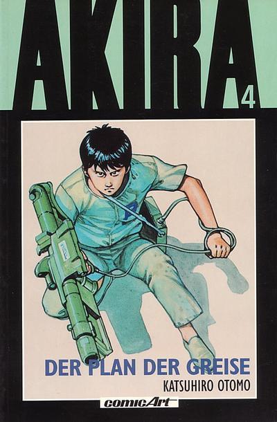 Cover for Akira (Carlsen Comics [DE], 1991 series) #4