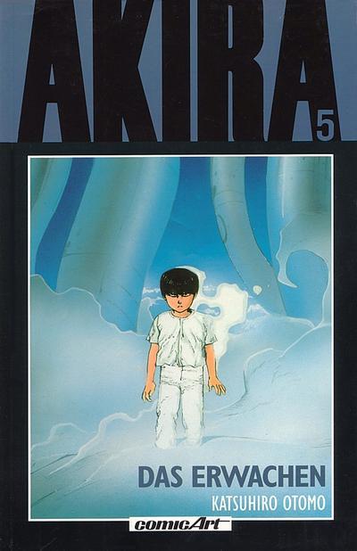 Cover for Akira (Carlsen Comics [DE], 1991 series) #5