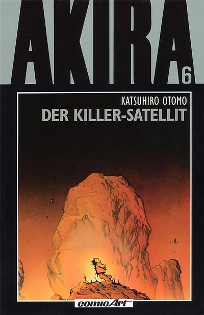Cover for Akira (Carlsen Comics [DE], 1991 series) #6 - Der Killer-Satellit