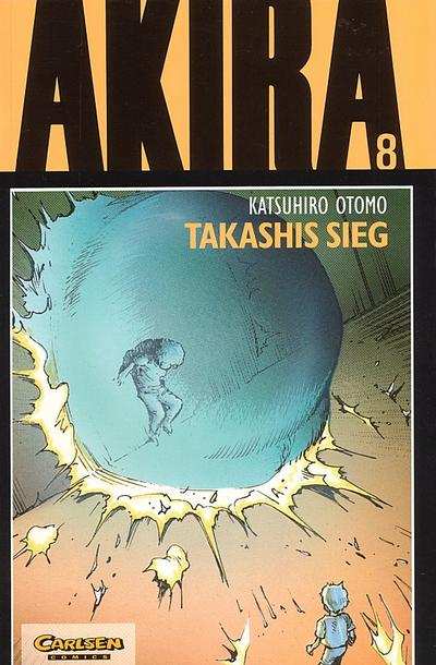 Cover for Akira (Carlsen Comics [DE], 1991 series) #8