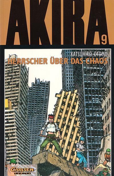 Cover for Akira (Carlsen Comics [DE], 1991 series) #9