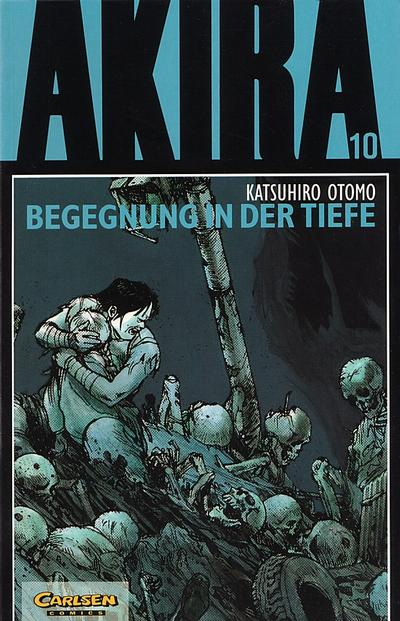 Cover for Akira (Carlsen Comics [DE], 1991 series) #10