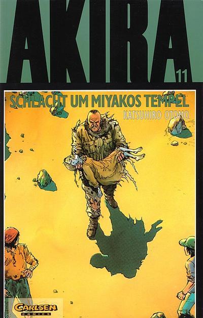 Cover for Akira (Carlsen Comics [DE], 1991 series) #11 - Schlacht um Miyakos Tempel