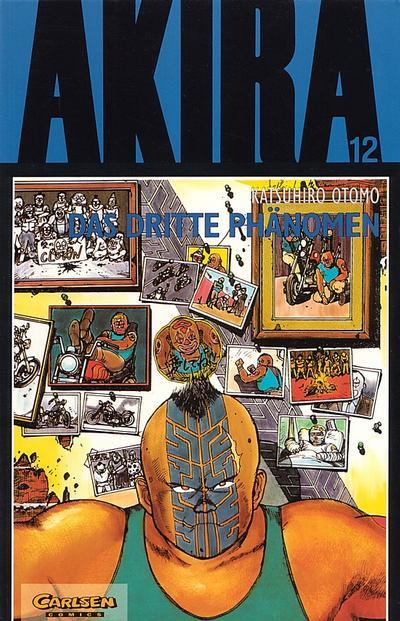 Cover for Akira (Carlsen Comics [DE], 1991 series) #12 - Das dritte Phänomen