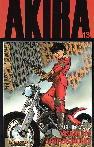 Cover for Akira (Carlsen Comics [DE], 1991 series) #13