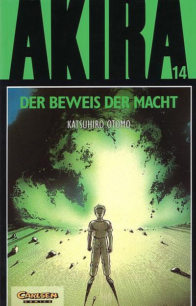 Cover for Akira (Carlsen Comics [DE], 1991 series) #14