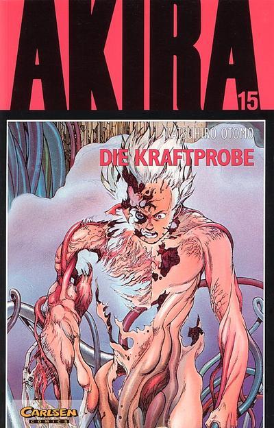 Cover for Akira (Carlsen Comics [DE], 1991 series) #15