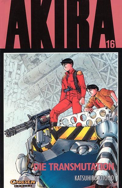 Cover for Akira (Carlsen Comics [DE], 1991 series) #16