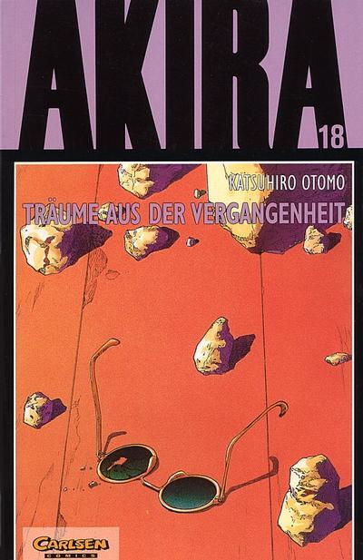 Cover for Akira (Carlsen Comics [DE], 1991 series) #18