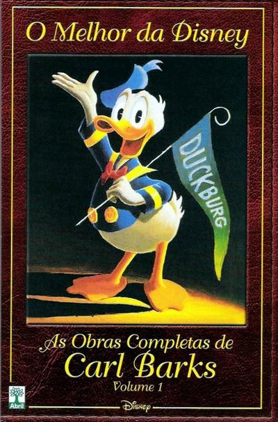 Cover for O Melhor da Disney: As Obras Completas de Carl Barks (Editora Abril, 2004 series) #1