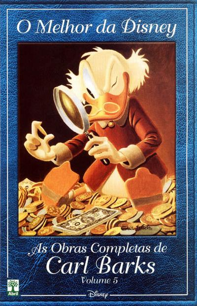 Cover for O Melhor da Disney: As Obras Completas de Carl Barks (Editora Abril, 2004 series) #5