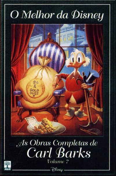 Cover for O Melhor da Disney: As Obras Completas de Carl Barks (Editora Abril, 2004 series) #7
