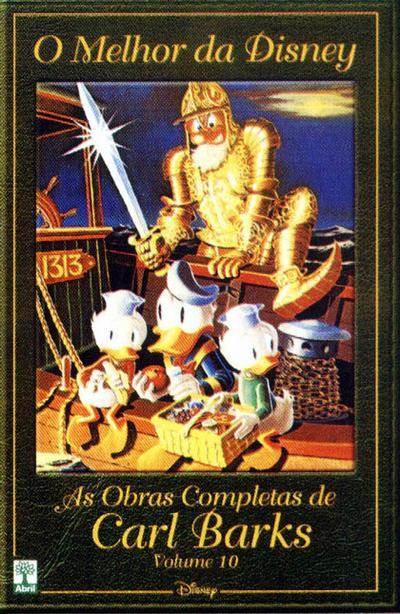 Cover for O Melhor da Disney: As Obras Completas de Carl Barks (Editora Abril, 2004 series) #10