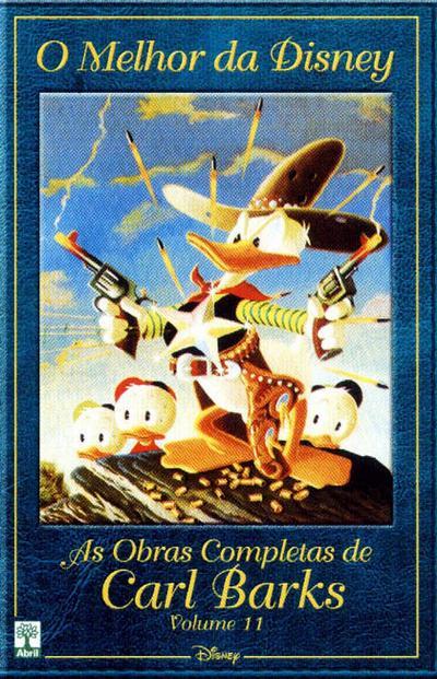 Cover for O Melhor da Disney: As Obras Completas de Carl Barks (Editora Abril, 2004 series) #11