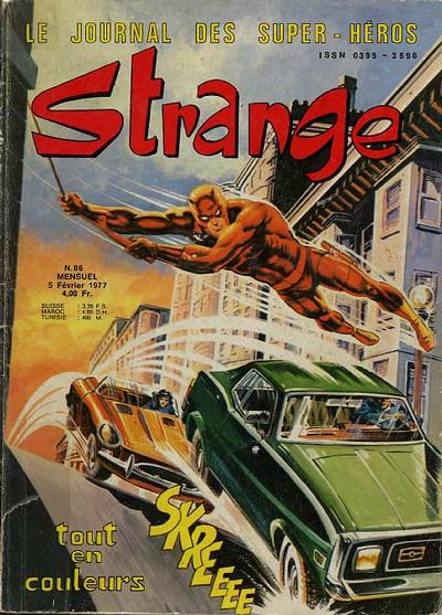 Cover for Strange (Editions Lug, 1970 series) #86