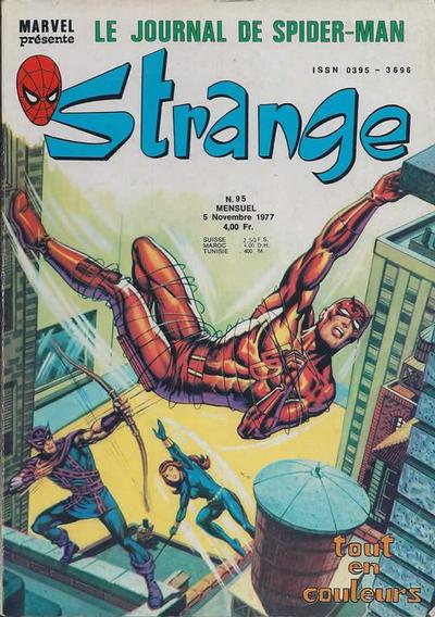 Cover for Strange (Editions Lug, 1970 series) #95