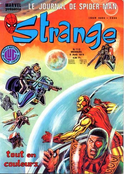 Cover for Strange (Editions Lug, 1970 series) #112