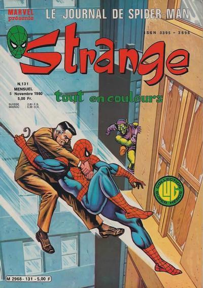 Cover for Strange (Editions Lug, 1970 series) #131