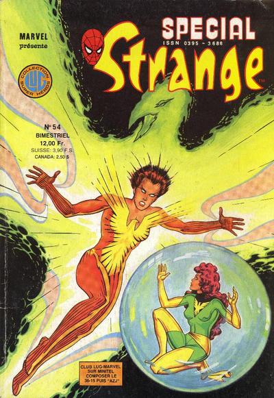 Cover for Spécial Strange (Editions Lug, 1975 series) #54
