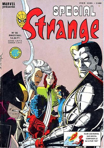 Cover for Spécial Strange (Editions Lug, 1975 series) #56