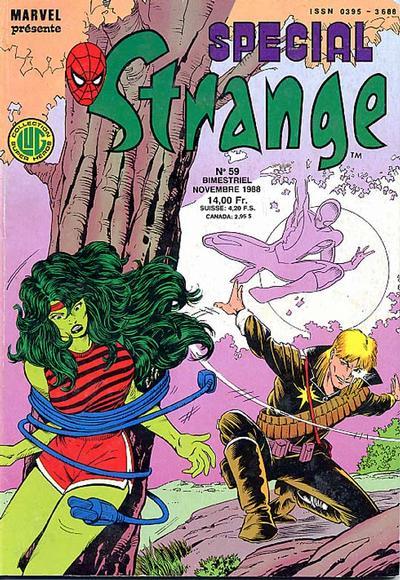 Cover for Spécial Strange (Editions Lug, 1975 series) #59