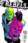Cover for R.E.B.E.L.S. (DC, 2009 series) #12