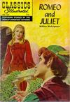 Cover for Classics Illustrated (Gilberton, 1947 series) #134 - Romeo and Juliet [Second Painted Cover]