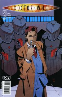 Cover Thumbnail for Doctor Who (IDW, 2009 series) #6 [Cover B]